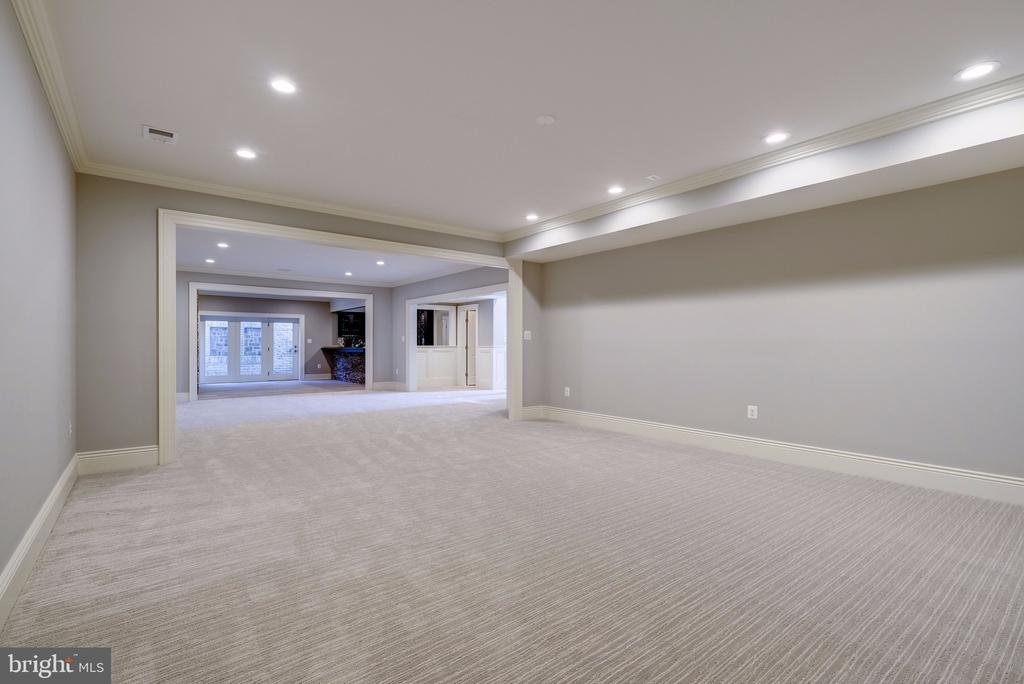Lower Level Media Room - 3200 N ABINGDON ST, ARLINGTON