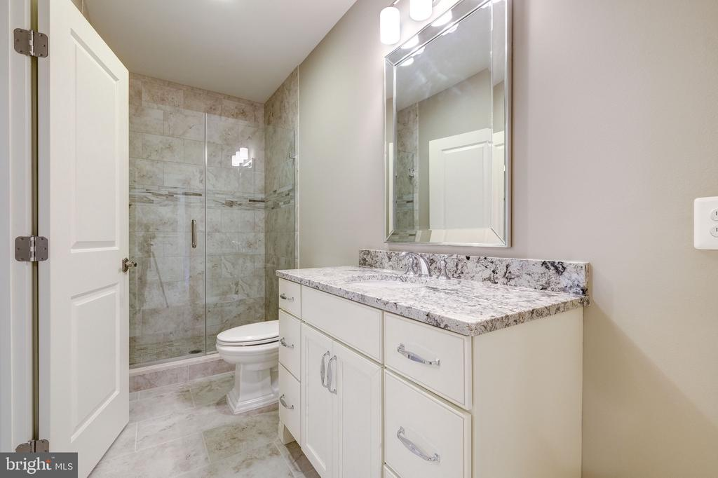 Lower Level Bathroom - 3200 N ABINGDON ST, ARLINGTON