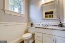 Second Main Level Powder Room off Mudroom - 3200 N ABINGDON ST, ARLINGTON