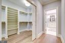 2 Separate Custom Master Closets - 3200 N ABINGDON ST, ARLINGTON