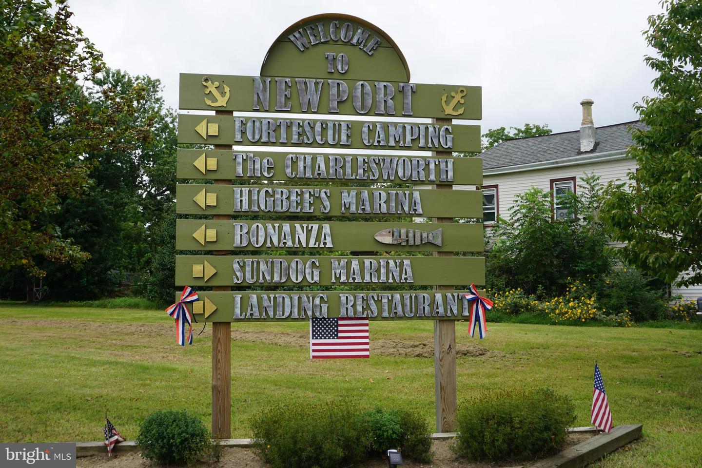 Terrain pour l Vente à Newport, New Jersey 08345 États-Unis
