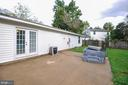 Great Entertainment Space on back patio - 11202 OLD LEAVELLS RD, FREDERICKSBURG