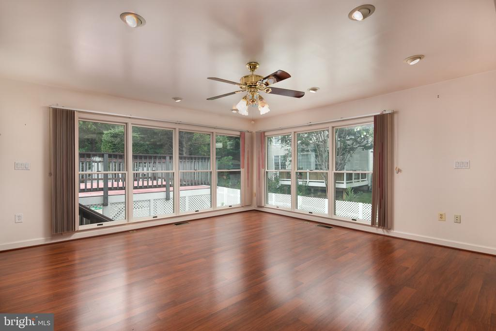 Great View to Private Yard - 7138 SHREVE RD, FALLS CHURCH