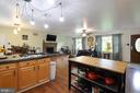 View from Kitchen to Dining & Living Room - 11202 OLD LEAVELLS RD, FREDERICKSBURG