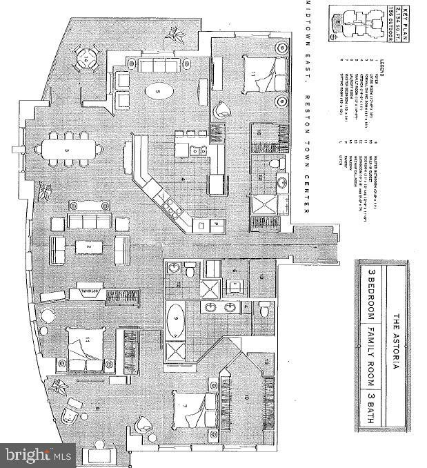 Floor Plan - Reversed - 11990 MARKET ST #812, RESTON
