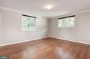 Master Bedroom Features Hardwood Floors - 5120 THACKERY CT, FAIRFAX