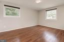 Bedroom #2 - Hardwood Floors - 5120 THACKERY CT, FAIRFAX