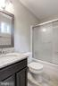 Master Bathroom - Tile Floor & Granite Counter Top - 5120 THACKERY CT, FAIRFAX
