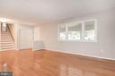 Living Room Receives Great Sunlight! - 5120 THACKERY CT, FAIRFAX