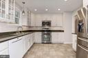 Kitchen - Recess Lighting, Ceramic Tile Floors - 5120 THACKERY CT, FAIRFAX