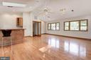 Great Room Features Cathedral Vaulted Ceiling! - 5120 THACKERY CT, FAIRFAX