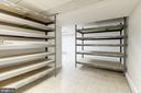 Basement - Storage Racks Can Stay or Go - 5120 THACKERY CT, FAIRFAX