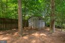 Shed - Great for your Additional Storage Needs! - 5120 THACKERY CT, FAIRFAX