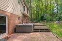 Superbly Operating Hot Tub Conveys!  ENJOY! - 5120 THACKERY CT, FAIRFAX