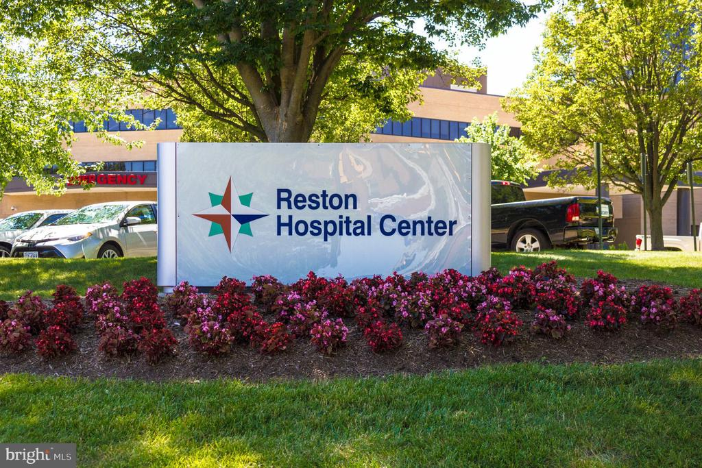 Reston Hospital Sign - 11990 MARKET ST #812, RESTON