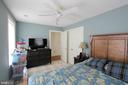 Upper- Bedroom 2 - Classic Painted Wood Floors - 1208 SPOTSWOOD DR, LOCUST GROVE
