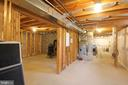 Framed - Heated & Cooled Basement - 1208 SPOTSWOOD DR, LOCUST GROVE