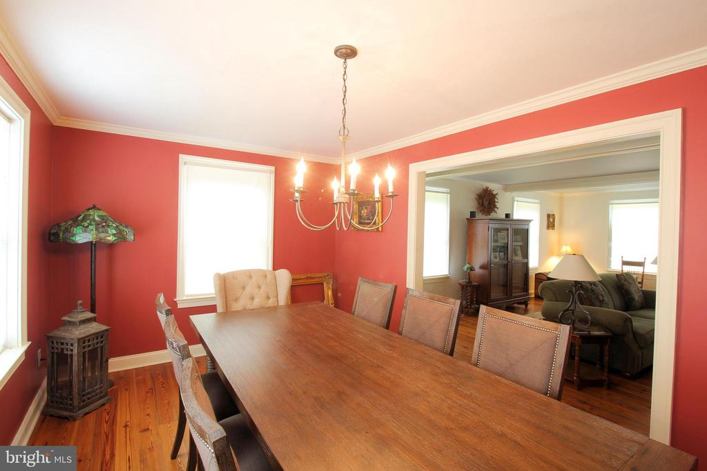 Spacious Light-filled Dining Room - 1208 SPOTSWOOD DR, LOCUST GROVE