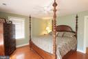 Master Bedroom  - Upper Level - Heart Pine Floors - 1208 SPOTSWOOD DR, LOCUST GROVE