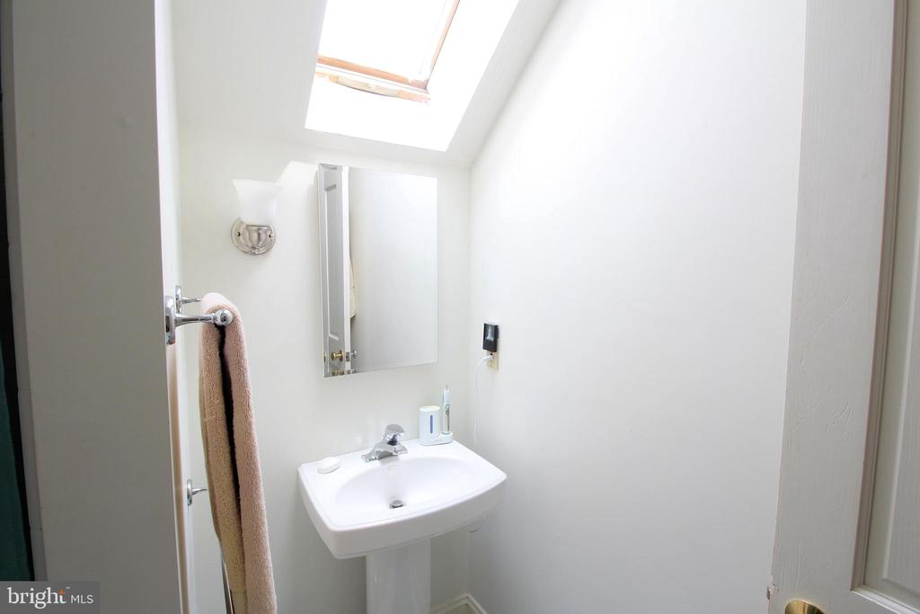 Upper-Level Hall Bath - Love the Skylight! - 1208 SPOTSWOOD DR, LOCUST GROVE