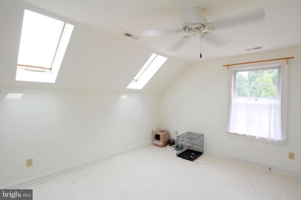 Upper-Level Bedroom 3 - View 2 - More Skylights! - 1208 SPOTSWOOD DR, LOCUST GROVE
