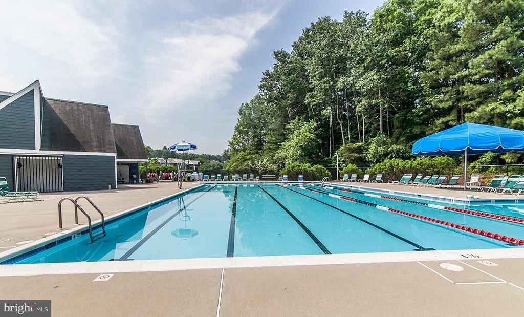 Lake Audubon Pool - 11928 SENTINEL POINT CT, RESTON