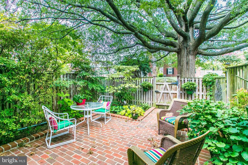 Elegant Brick Patio, Does Not Get Better Than This - 3475 S WAKEFIELD ST S, ARLINGTON
