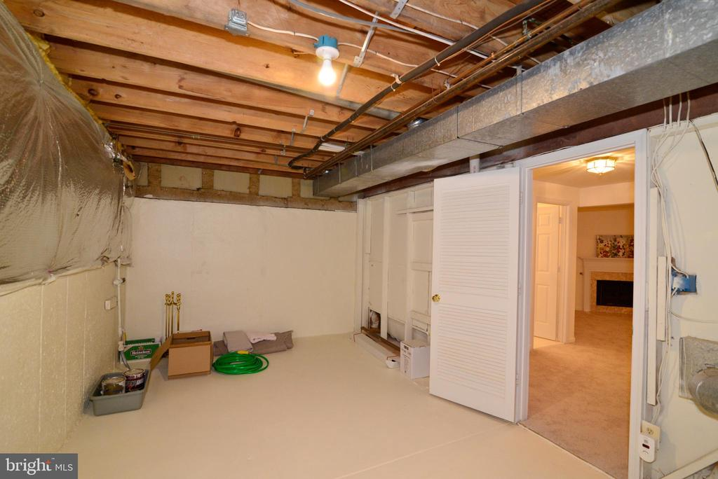 Lots of storage in basement - 43854 LABURNUM SQ, ASHBURN