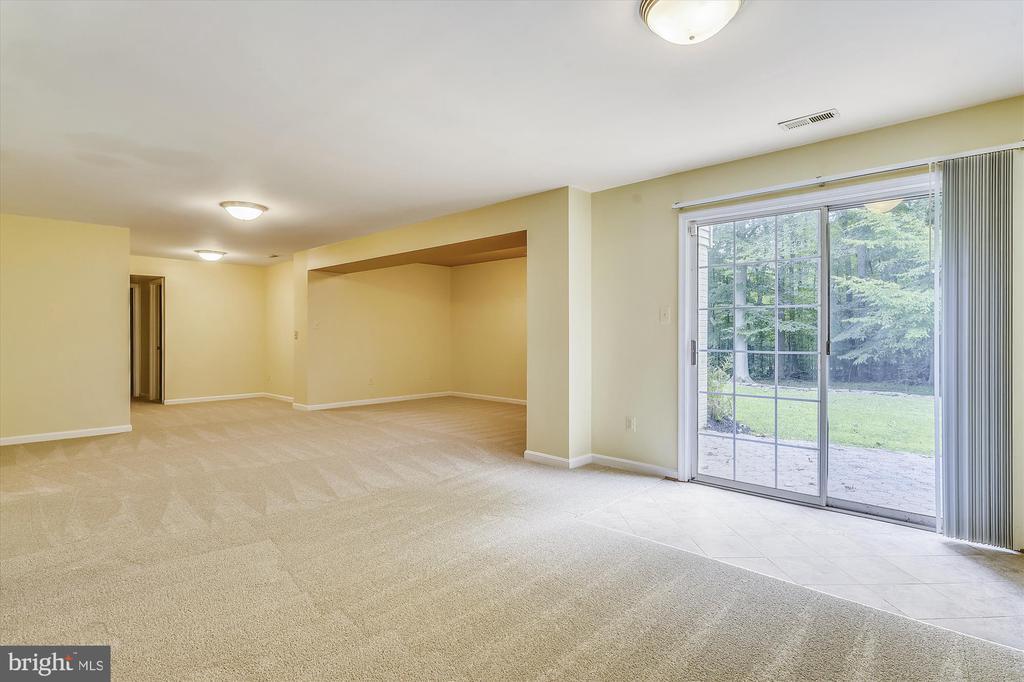 Basement TV Room - 6540 MANET CT, WOODBRIDGE