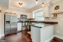 Remodeled Kitchen with Granite Counters - 18209 SMOKE HOUSE CT, GERMANTOWN