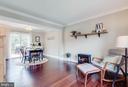 Living Room/Dining Area - 18209 SMOKE HOUSE CT, GERMANTOWN