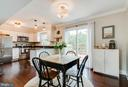 Dining Area and Kitchen- Open floor plan - 18209 SMOKE HOUSE CT, GERMANTOWN