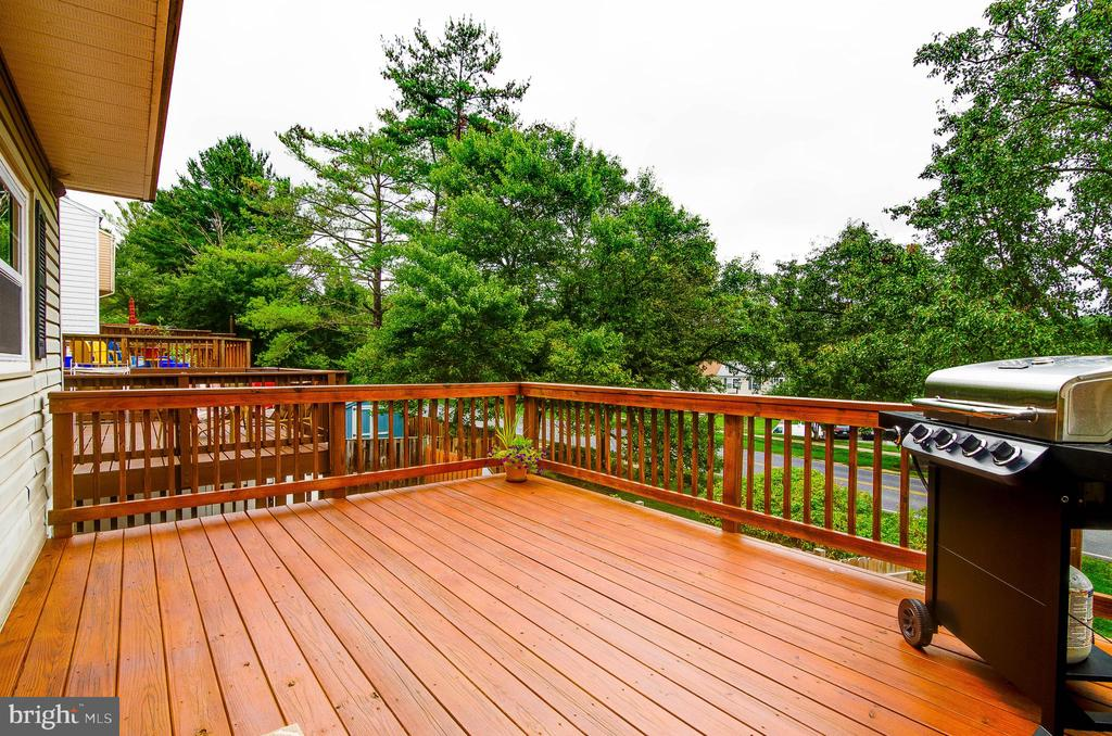 Spacious Deck- great for grilling and entertaining - 18209 SMOKE HOUSE CT, GERMANTOWN