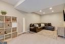 Recreation Room- recess lighting - 18209 SMOKE HOUSE CT, GERMANTOWN