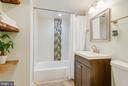 Lower level Full bath - 18209 SMOKE HOUSE CT, GERMANTOWN