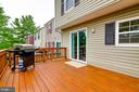 Deck - 18209 SMOKE HOUSE CT, GERMANTOWN