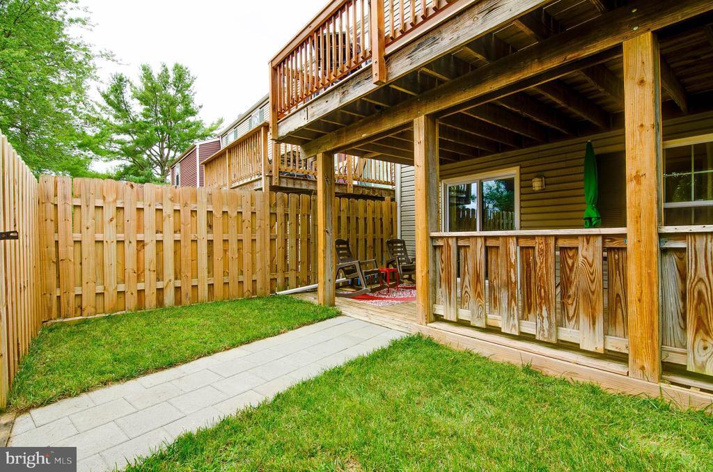 Backyard - 18209 SMOKE HOUSE CT, GERMANTOWN