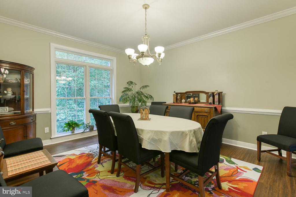 Formal dining room - 32 MONUMENT DR, STAFFORD