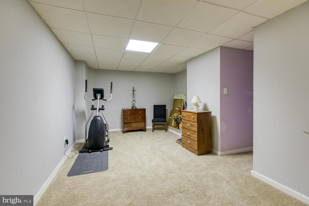 Basement room great for anything! - 32 MONUMENT DR, STAFFORD