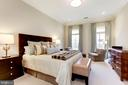 Master Suite with privacy of 4th floor - 1419 N NASH ST, ARLINGTON