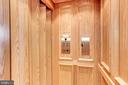 Private elevator serves all 5 floors - 1419 N NASH ST, ARLINGTON
