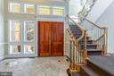 Stunning foyer featuring beautiful floors - 1419 N NASH ST, ARLINGTON
