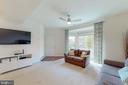 Bay window in living room - 42231 PIEBALD SQ, ALDIE