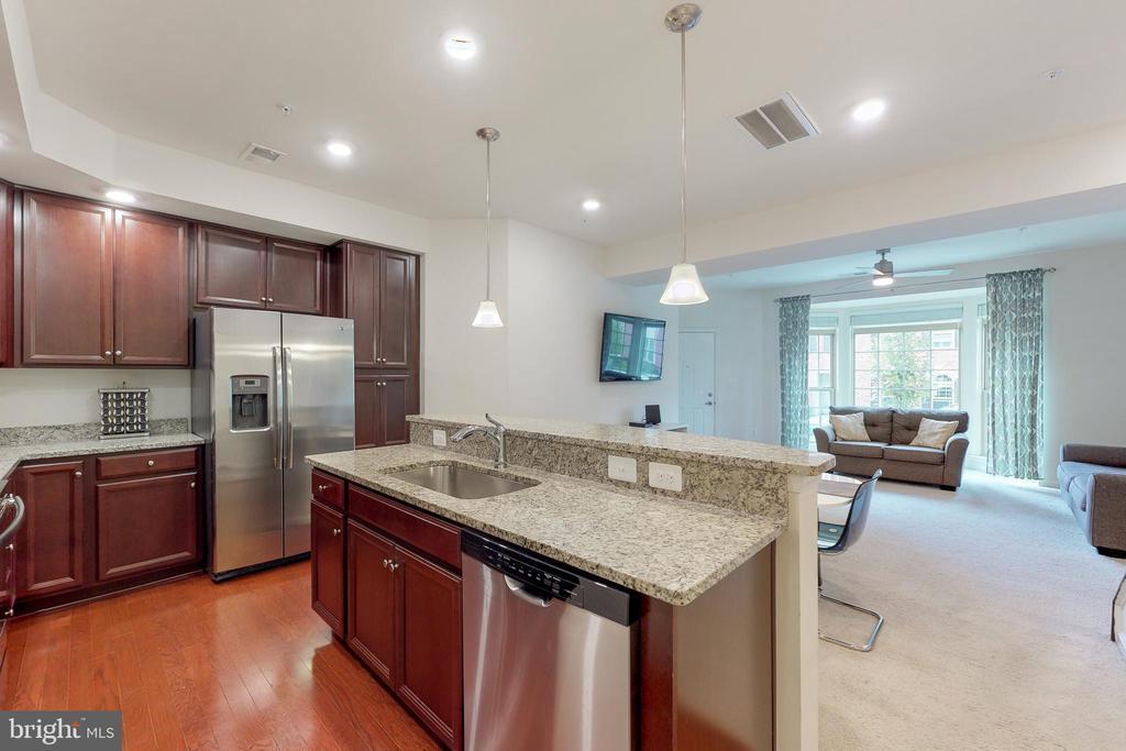 Kitchen island - 42231 PIEBALD SQ, ALDIE