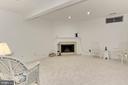 Basement with fireplace - 20946 TOBACCO SQ, ASHBURN