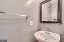 Main level half bath - 9341 BIRCH CLIFF DR, FREDERICKSBURG