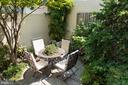 Beautiful garden - 2015 HILLYER PL NW, WASHINGTON