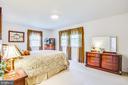 Master Bedroom - 819 LEELAND RD, FREDERICKSBURG