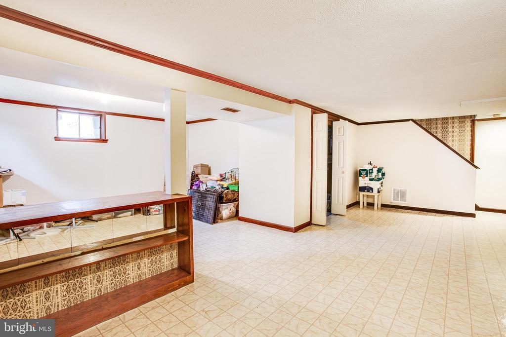 Basement - 819 LEELAND RD, FREDERICKSBURG