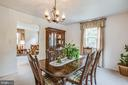 Dining Room - 819 LEELAND RD, FREDERICKSBURG